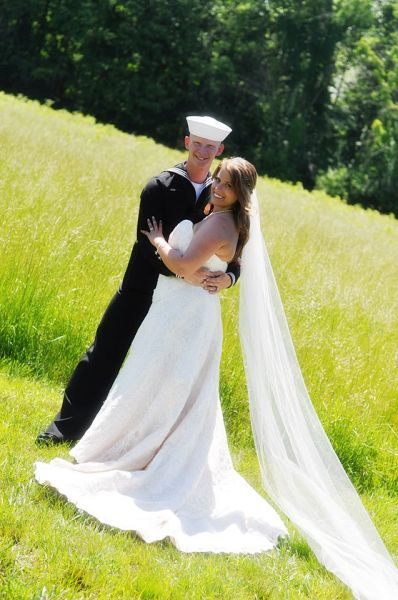 wedding outdoors beautiful setting officiant ohio